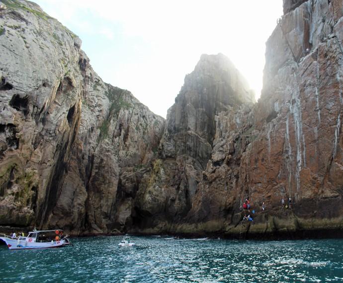 Olha que paisagem incrível! (Foto: Rodrigo Brisolla/Gshow)