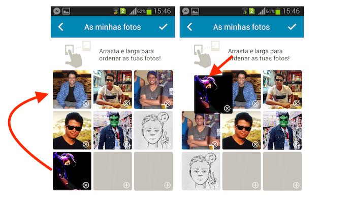 Definindo uma foto para perfil do Happn através do aplicativo de paquera para Android (Foto: Reprodução/Marvin Costa)