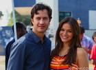 Bruna Marquezine e Gabriel Braga Nunes mostram opiniões divergentes sobre romance Em Família (Foto: Carol Caminha / TV Globo)