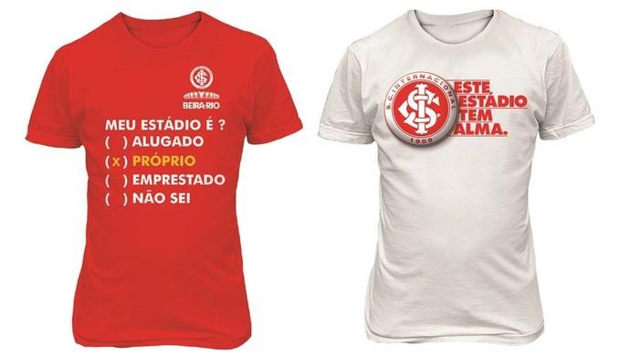 Inter cria camisas do novo Beira-Rio (Foto: Divulgação/Inter)