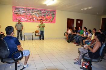 Posse da Federação Acreana de Futsal (Foto: Nathacha Albuquerque)