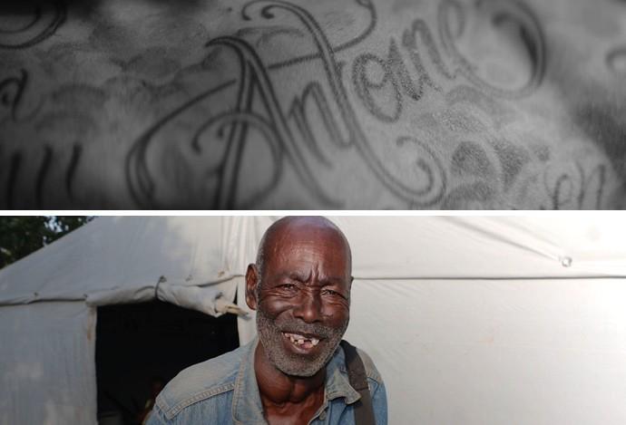 Ibrahimovic tatuagem Antoine (Foto: Reprodução)