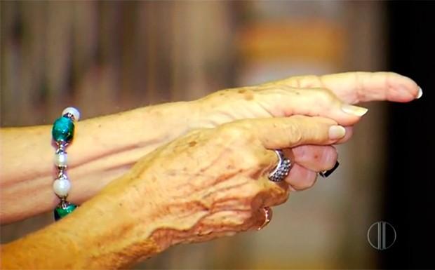 Idosa de 75 anos, que sofre do Mal de Alzheimer, ficou na mira de assaltantes na Zona Sul de Natal (Foto: Reprodução/Inter TV Cabugi)
