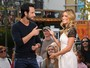 Rodrigo Santoro participa de programa de TV em Los Angeles
