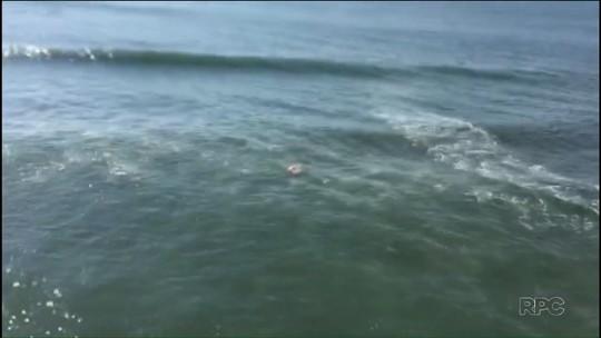 Adolescente se afoga e é resgatado pelos bombeiros no litoral do Paraná
