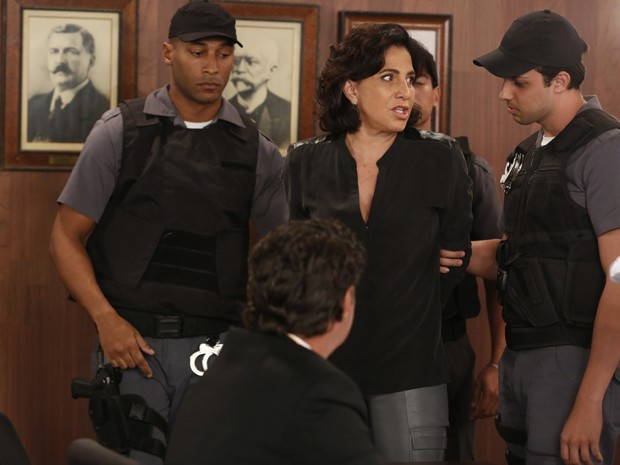 Adriana é condenada a 30 anos de prisão (Foto: Ellen Soares/ Gshow)
