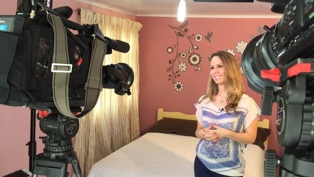 Profissionais mostram dicas de decoração no Bom Dia SC (Foto: RBS TV/Divulgação)