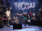 Lulu Santos canta pela 1ª vez com Paula Fernandes no Altas Horas 12 anos