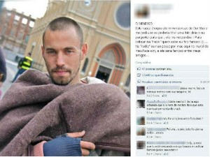 Rafael ficou famoso após pedir para ser fotografado em Curitiba  (Foto: Reprodução / Facebook)