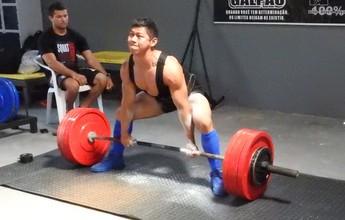 Atleta busca apoio para participar do Sul-Americano de Powerlifting no Peru