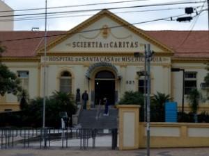 Equipe do Samu registrou B.O. contra a Santa Casa de Piracicaba (Foto: Thomaz Fernandes)