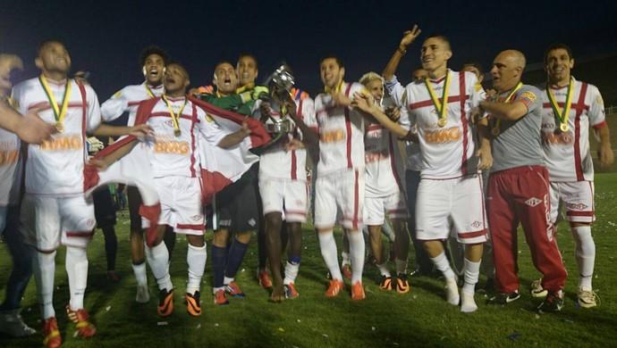 Tombense campeão Série D Brasileiro (Foto: Bruno Ribeiro)