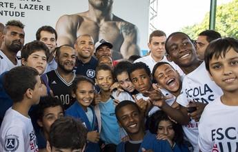 """José Aldo inaugura projeto social  no Rio de Janeiro: """"Estou muito feliz"""""""