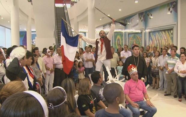 Espetáculo de teatro é realizado em Boa Vista (Foto: Roraima TV)