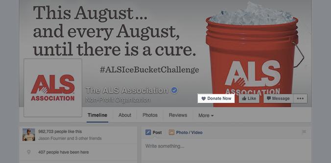 Botão permite que usuários façam doações sem intermediação do Facebook (Foto: Divulgação/Facebook)