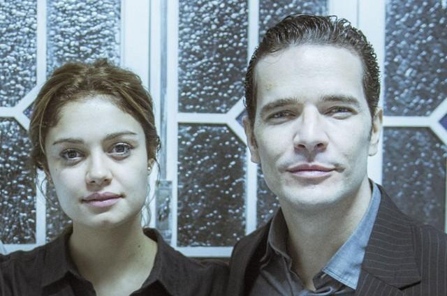 Sophie Charlotte e Daniel de Oliveira (Foto: Mauricio Fidalgo/ TV Globo)