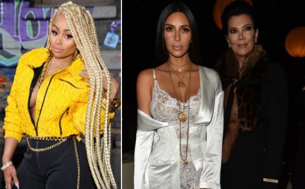 Blac Chyna, Kim Kardashian e Kris Jenner (Foto: Getty Images)