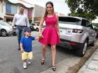 Grávida, Wanessa comemora aniversário do filho com famosos