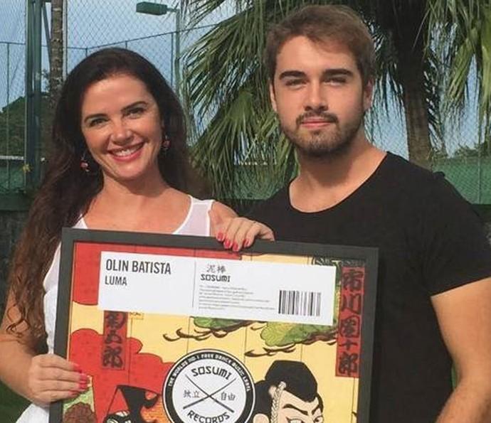 Olin retorna às picapes com Luma, música em homenagem à mãe (Foto: Arquivo Pessoal)