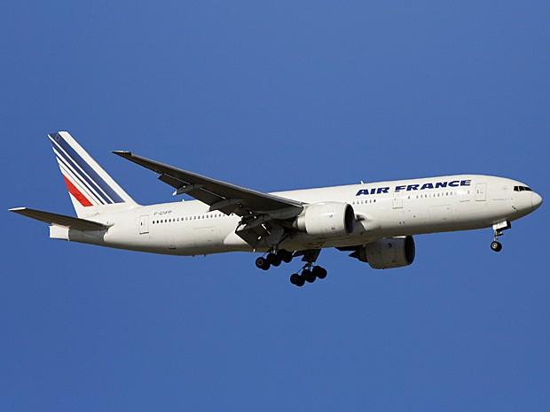 Boeing 777 da Air France (Foto:  Christophe Lehenaff/Photononstop/Arquivo AFP)
