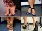 Qual sapato usado por Claudia Leitte no The Voice faz mais o seu estilo?