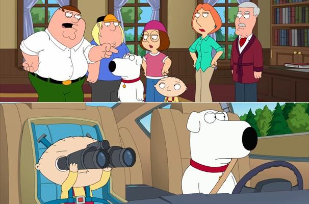Lois fica irritada com Brian por achar que ele mentiu (Foto: Divulgação/Reprodução)