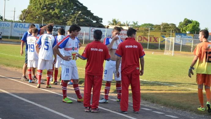 Colorado time sub-20 do Cone Sul de Rondônia (Foto: Rogério Aderbal)