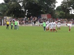 Chapadão antes do jogo contra o Águia Negra (Foto: Wagner Santana/TV Morena)