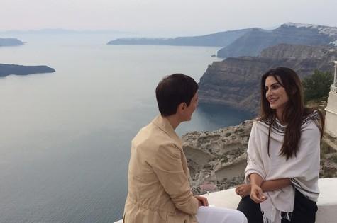 """Lílian Pacce gravou seu """"GNT fashion"""" na Grécia com Cleo Pires (Foto: Divulgação)"""