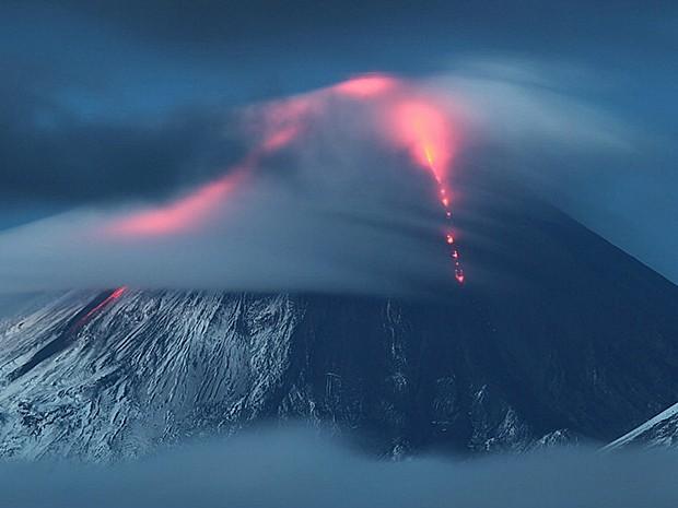 Vulcão (Foto: Ivan Dementievskiy)