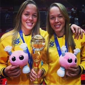 Michelle e Monique Pavão (Foto: Divulgação/Instagram )