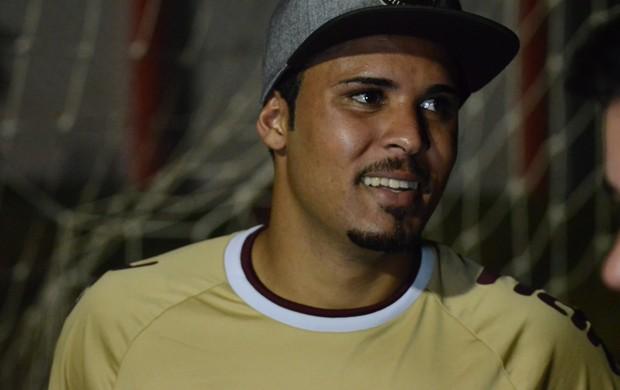 Rodrigo, autor do gol do Sergipe (Foto: Felipe Martins/GLOBOESPORTE.COM/SE)