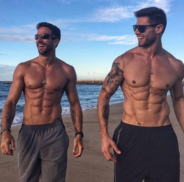 Erasmo Viana e Jonas Sulzbach (Foto: Reprodução/Instagram)