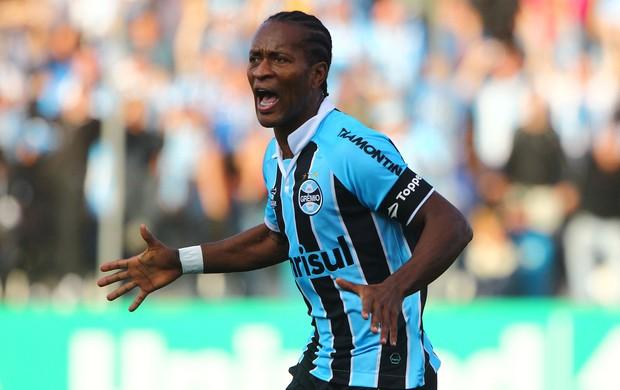 Ze Roberto gol Grêmio (Foto: Lucas Uebel / Grêmio)