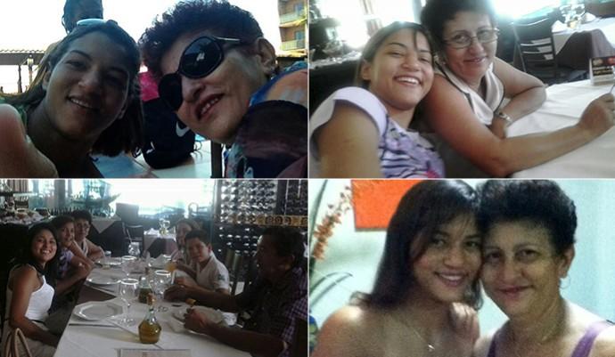 Sarah Menezes e Dona Dina: Momentos em família no Dia das Mães (Foto: Arquivo Pessoal)
