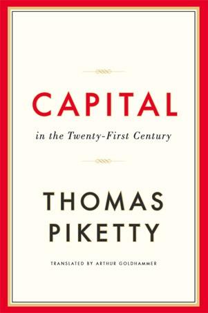 Capa do livro de Thomas Piketty em inglês (Foto: Reprodução)