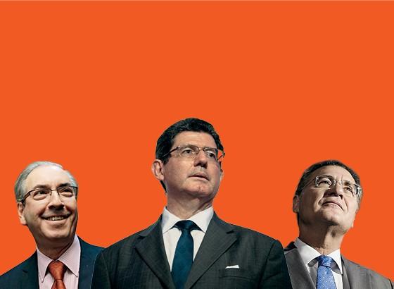 O novo tripé da economia brasileira: Levy, Cunha e Renan