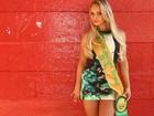 'Sempre acreditei que tenho o melhor conjunto', afirma Miss Bumbum 2014