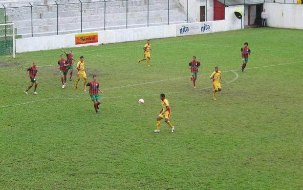 Briosa e Jabaquara ficam no empate (Foto: Bruno Gutierrez / Globoesporte.com)