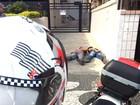 Dupla suspeita de tentar furtar motocicleta é detida em Santos, SP