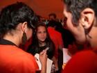 Aos 10 anos, filha de Claudia Raia e Celulari dá entrevistas no RIR