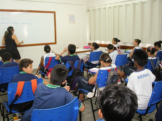 Concurso oferece vagas para a área da educação no Amazonas (Foto: Eduardo Cavalcante/Seduc-AM)