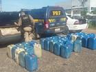 PRF apreende 1 tonelada de cebola e 900 litros de gasolina em Roraima