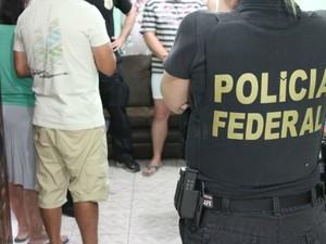 Além do Paraná, operação ocorre em 17 estados e no Distrito Federal (Foto: Polícia Federal/ Divulgação)