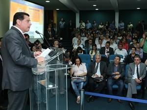 Governador Marconi Perillo  (Foto: Henrique Luiz/Gabinete de Impresa  do Governo de Goiás )