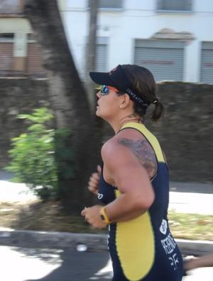 Flávia Marques, triatleta de Uberlândia (Foto: Flávia Marques/Arquivo Pessoal)