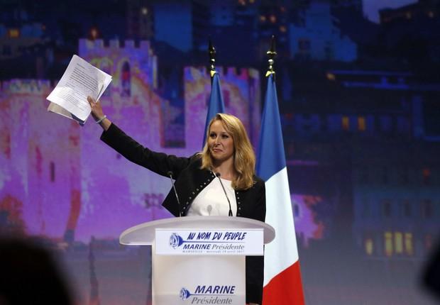 Marion Marechal-Le Pen foi mais jovem deputada da história da França (Foto: Robert Pratta/Reuters)