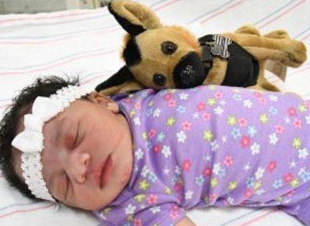 bebê (Foto: Reprodução/Twitter)