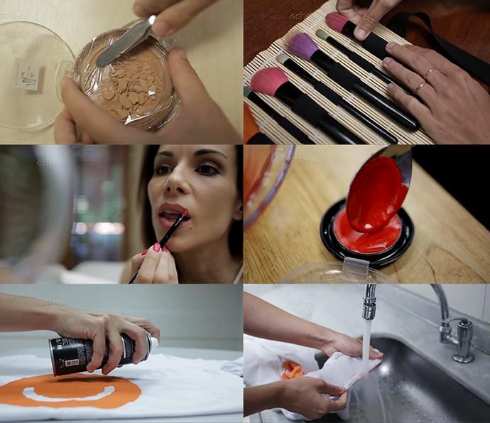 Testamos fazer batom caseiro e tirar manchas de maquiagem: assista aos testes (Foto: Divulgação)