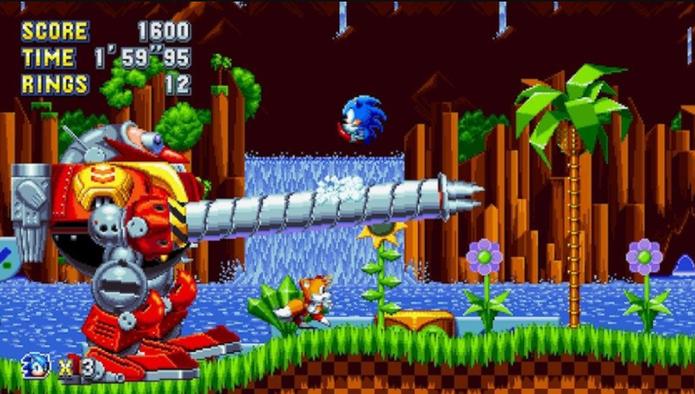 Sonic Mania (Foto: Divulgação/SEGA)